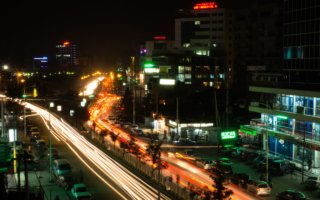 Addis Ababa by night